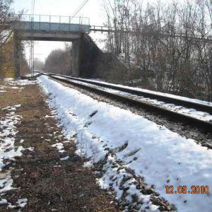 Rilievo sottopasso ferroviario